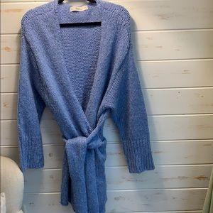 Zara oversized warm and fuzzy cardigan